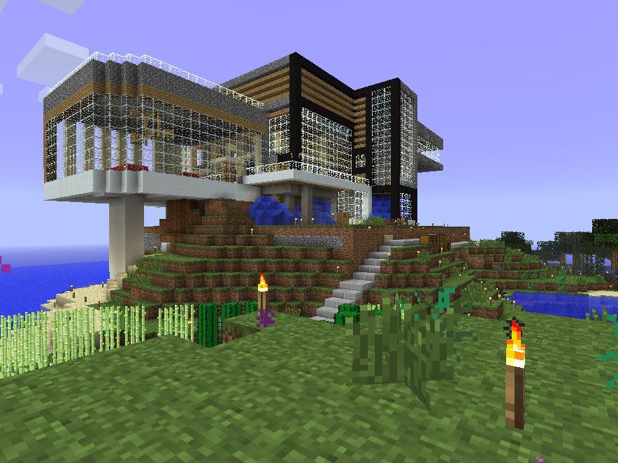 Как построить дом своими руками в майнкрафте видео
